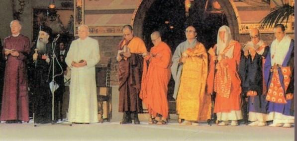 interreligiös bön i assisi 1986