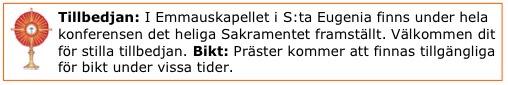 eukaristisk tillbedjan