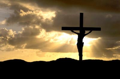 Jesu kropp på korset