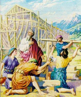 I Noas dagar